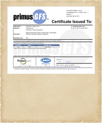 primus-certificate